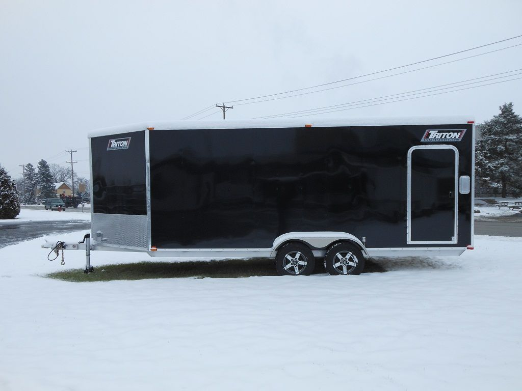 Enclosed Triton Trailers | Autos Post
